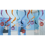 15 Swirl Decorations The PartyContinues 40 61 cm