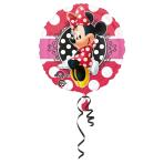 Standard Minnie Portrait Foil Balloon S60 Packaged 43 cm