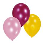 10 Latex Balloons Girls 22.8 cm/9''