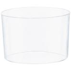 40 Mini Bowls Clear Plastic 73 ml