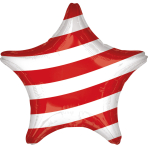 Standard Two-sided Stars and Stripes Foil Balloon S40 packaged