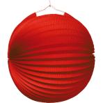 Lantern Red Paper 25 cm