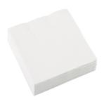 20 Napkins Frosty White 25 x 25 cm