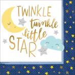 16 Napkins Twinkle Little Star 33 x 33 cm