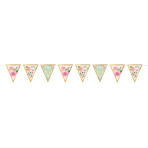 Pennant Banner Mint To Be Paper 457 x 17.7 cm
