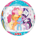 """Orbz """"My Little Pony"""" Foil Balloon Clear, G40, packed, 38 x 48 cm"""