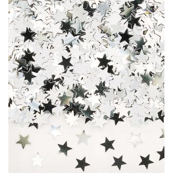 Confetti Stardust Silver Foil 14 g