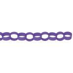 Chain Link Garland Purple 390 cm
