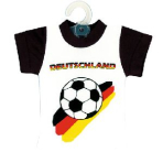 Mini Football Jersey Germany Fabric 15 x 16 cm