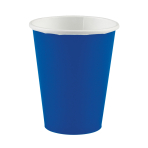 20 Cups Bright Royal Blue Paper 266 ml
