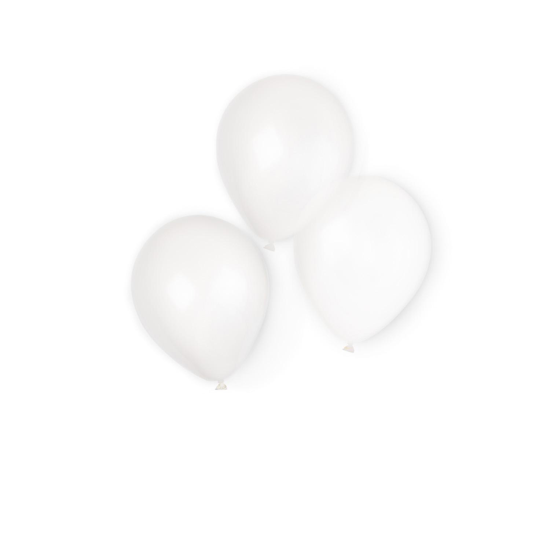 adb40e551a9ed 100 Latex Balloons White 22.8 cm 9     Amscan Europe