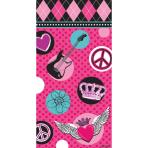 8 Party Paper Bags Rocker Girl25.5 x 13 x 7.6 cm