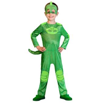 Child Costume PJ Masks Good Gekko Age 2 - 3 Years