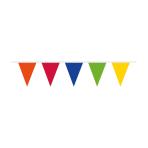 Pennant Banner Rainbow Plastic 1000 x 32 cm
