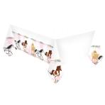 Tablecover Beautiful Horses Plastic 120 x 180 cm