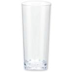 10 Mini Cordial Glasses Plastic Clear 59 ml