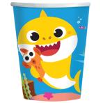 8 Cups Baby Shark 250 ml