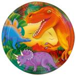 8 Plates Prehistoric Party 23 cm