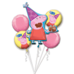 "Bouquet ""Peppa Pig"" Foil Balloon, P75, packed"
