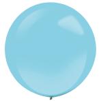 4 Latex Balloons Decorator Fashion Caribbean Blue 61 cm / 24