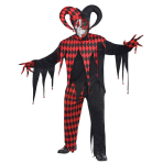 Men's Costume Krazed Jester Size XXL