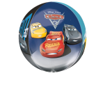 "Orbz ""Cars 3"" Foil Balloon  Clear, G40, packed, 38 x 40cm"