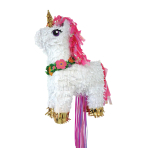 Pull Pinata Magical Unicorn Paper / Foil 33.5 x 50.5 x 12.4 cm