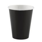 8 Cups Black Paper 266 ml