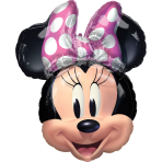 SuperShape Minnie Mouse Forever Foil Balloon P38 packaged 53cm x 66cm
