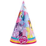 8 Party Hats My Little Pony Rainbow