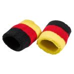 2 Wristbands Germany Fabric 14.4 x 7.6 cm