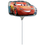 "Mini Shape ""Cars 3"" Foil Balloon, A30, airfilled"