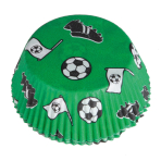 48 Cupcake Cases Kicker Party Paper 50 x 25 mm