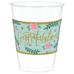 25 Cups Mint To Be Plastic 473 ml