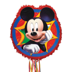 Pull Pinata Mickey Mouse Outline Paper / Plastic 45 x 46.9 x 7.6 cm