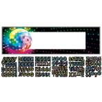 Foil Banner Disco Fever 70's Personalizable 165 x 50.8 cm