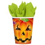 8 Cups Pumpkin Paper 266 ml