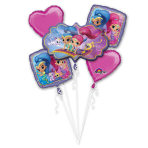 "Bouquet ""Shimmer & Shine"" Foil Balloon, P75, packed"
