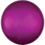 Orbz Bright Pink Foil Balloon G20 Bulk 38 x 40 cm