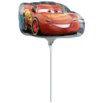 "Mini Shape ""Cars 3"" Foil Balloon, A30, bulk,"