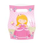 8 Party Bags My Princess Plastic 23.4 x 16.2 cm