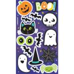 4 Halloween Sticker Sheets Paper