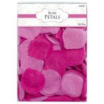 Flower Confetti Colourful Wedding Pink 5 cm 300 Pieces