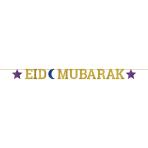 Letter Banner Eid Glitter Paper 365 x 12.7 cm