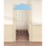 Door Curtain Oh Baby Boy Paper 190.5 x 96.5 cm
