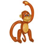Inflatable Monkey Plastic 50.8 cm