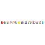 Letter Banner Balloons Paper 174 x 13 cm