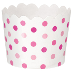 36 Snack Cups Paper Minis pink6,1 x 6,1 x 4,4cm
