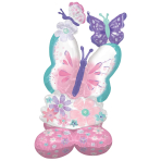 AirLoonz Flutters Butterfly Foil Balloon P71 Packaged 71 cm x 111 cm