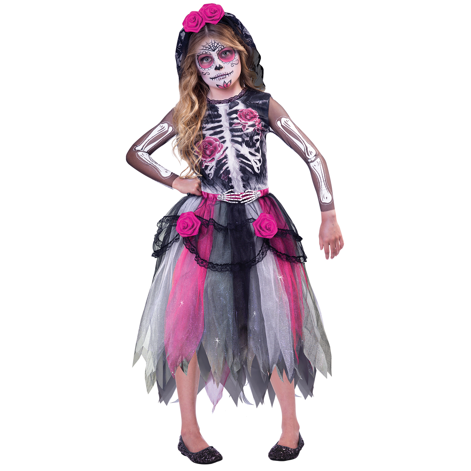 children's costume day of the dead spirit 10 - 12 years : amscan europe